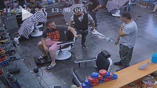 Hayden's Barbershop Perth brawl