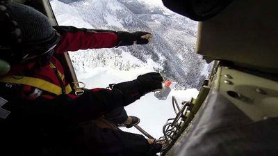 You might think your job is cool but chances are you don't throw live bombs out of a helicopter to trigger avalanches.