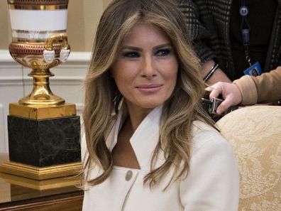 Melania Trump wife of Donald Trump in Washington