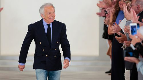 American designer Ralph Lauren to step down as CEO of his fashion empire