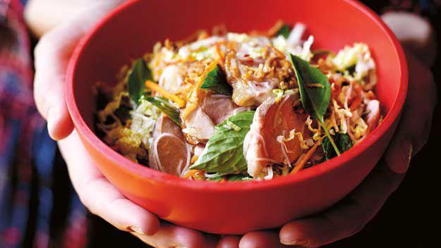 Duck Noodle Salad