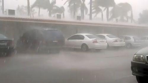 Residents in Mildura, a town in north-west Victoria filmed the heavy downpour. (Instagram)