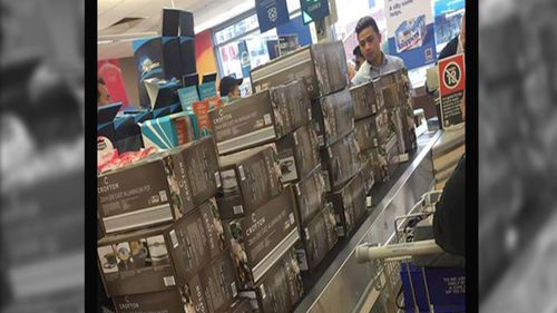 Some customers have been accused of bulk purchasing discounted goods in order to sell them on.