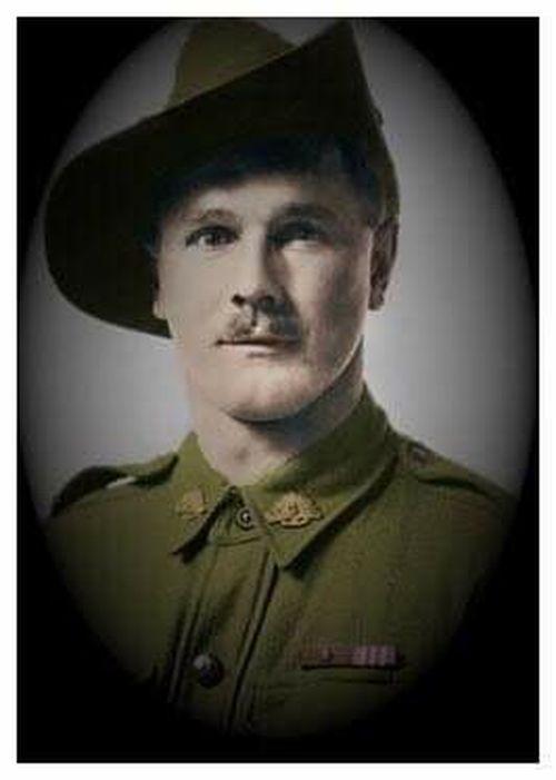 Kerri Morley's Great Grandfather, Victoria Cross Recipient Sergeant Percy Statton of the 40th Battalion.