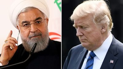 Trump tweets foreboding 'all caps' warning to Iran