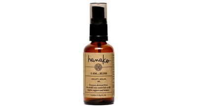 "<a href=""http://www.hanakotherapies.com/products/i-am-bliss"" target=""_blank"">I am… bliss essence spray, $29.95, Hanako Therapies</a>"