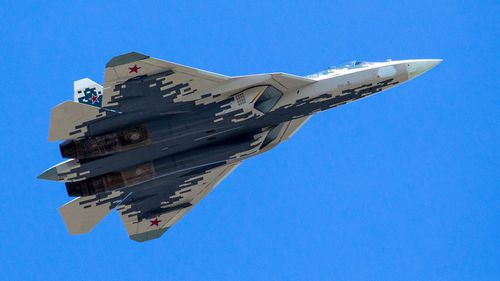 Su-57 fighter jet crashes in Russia's Far East