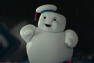 The Marshmallow Man is back as you've never seen him before in 'Ghostbusters: Afterlife'.