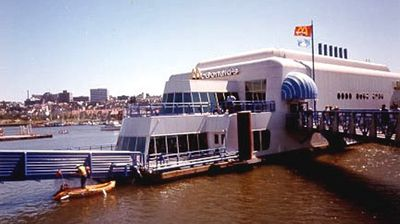 The owner of the McBarge recently announced plans to renovate the restaurant and reopen it for business.