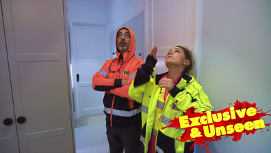 Exclusive: Teams realise the key 'issue' with Sarah and George's Guest Bedroom