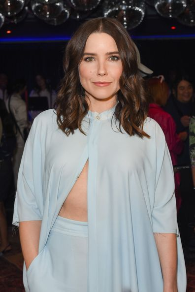 Sophia Bush attends Baja East FW20 Los Angeles runway show at Sunset at EDITION on February 07, 2020 in West Hollywood, California.