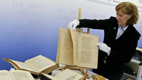 Rare books by Galileo and Copernicus worth $3.67m found three years after being stolen by librarian
