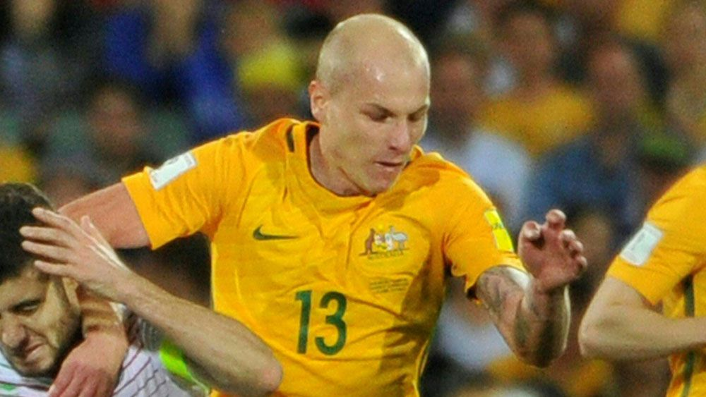 Aaron Mooy has been selected in the PFA's Championship Team of the Year. (AAP)