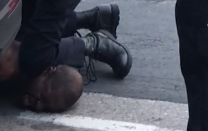 Police officer filmed kneeling on man's neck before death
