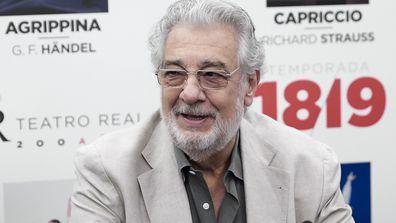 Placido Domingo in July 2019