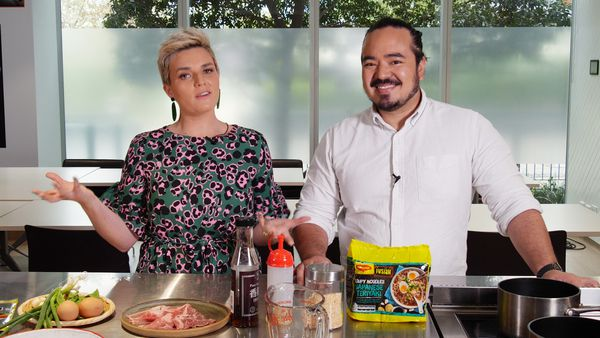 Adam Liaw pimps his two-minute noodles