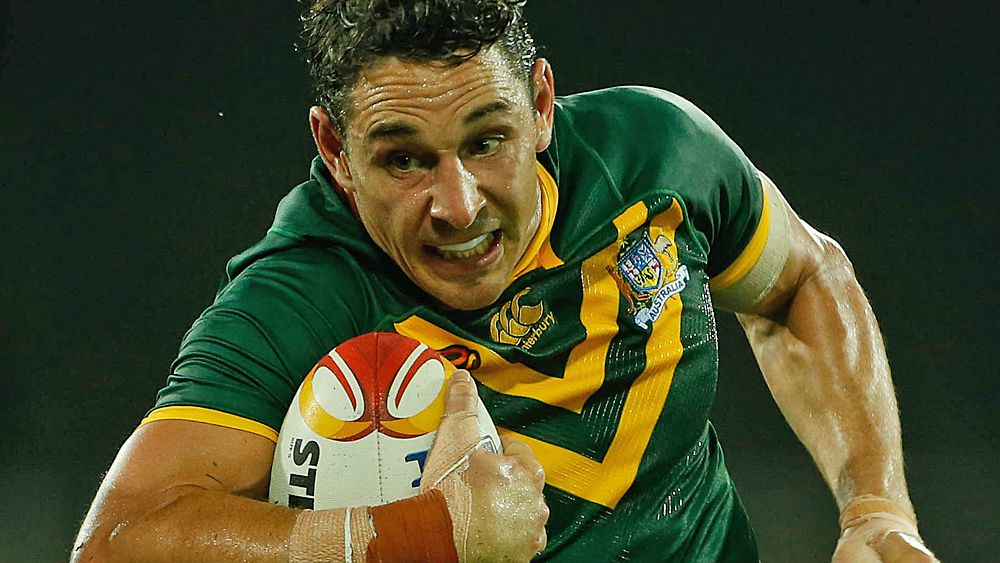 World Cup final may be Billy Slater's last for Kangaroos