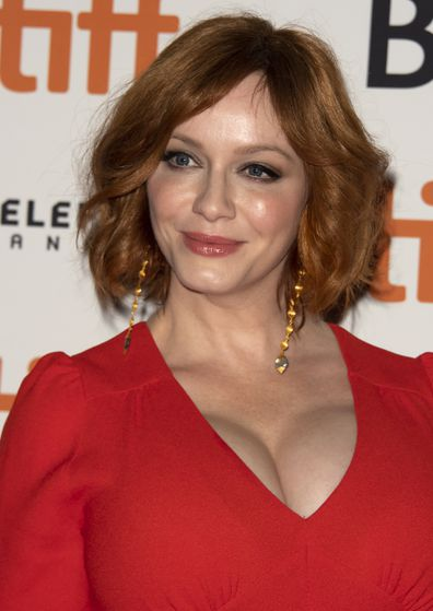 Christina Hendricks, movie premiere, red carpet