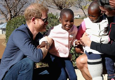 Prince Harry Meghan Markle Archie royal tour itinerary south Africa