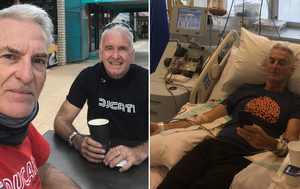 'Bonded by blood': 9News presenter straight back to work after donating stem cells to brother