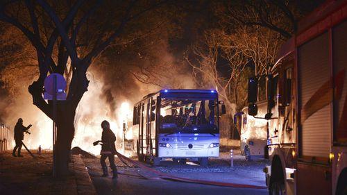 Ankara suicide bomber linked to Kurdish rebels: Turkey PM
