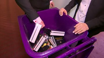 Binned: Clive Palmer's book set for the tip