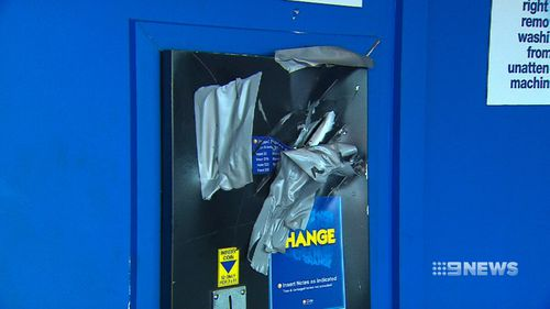 The business owner says a new change machine could cost up to $5000.