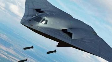 China teases glimpse of planned stealth bomber