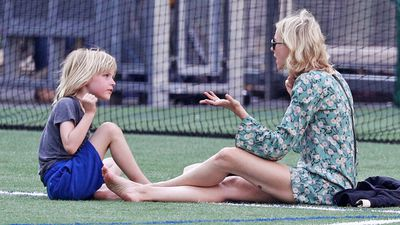 Yep. It's that moment. Every parent in the world knows it - and clearly Naomi Watts does too. She's only human after all.