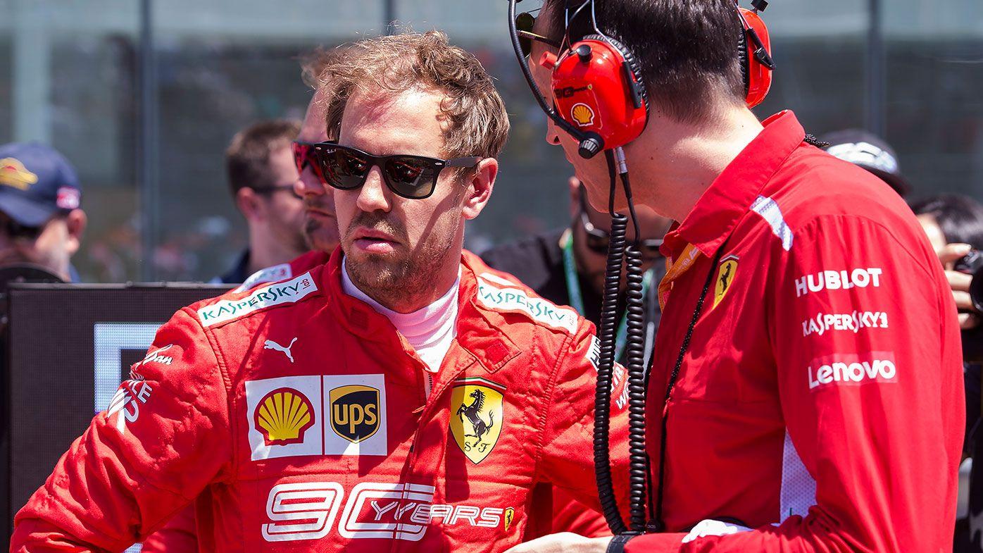 Ferrari won't appeal Sebastian Vettel's penalty at Canadian Grand Prix