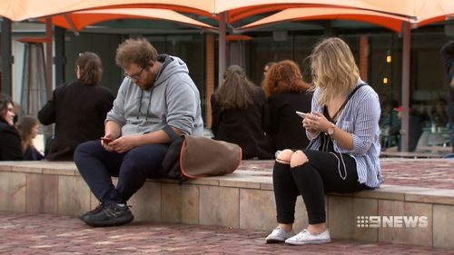 The Deakin University study of almost 400 undergraduate students found a third felt anxious if they were unable to regularly check their phones. (9NEWS)