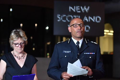 British police officers from Scotland Yard confirmed the substance Ms Sturgess and Mr Rowley came into contact with was Novichok, the same nerve agent used to poison ex-Russian spy Sergei Skripal and his daughter. Picture: AAP.