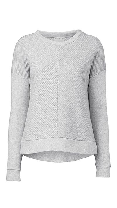"<a href=""http://www.witchery.com.au/shop/woman/clothing/stripe-jacquard-sweat-60180626"" target=""_blank"">Stripe Jacquard Sweat, $99.95, Witchery</a>"