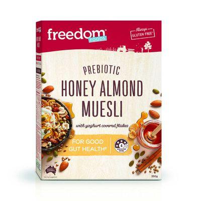 Freedom Foods Prebiotic Honey Almond Muesli
