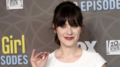 Zooey Deschanel at New Girl 100th episode party