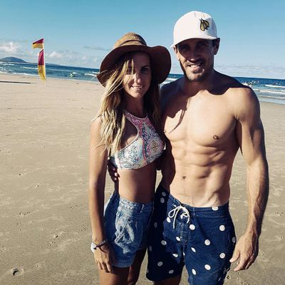 <em>Australian Survivor</em> couple Lee Carseldine and El Rowland hit Alexandra Headland in Queensland