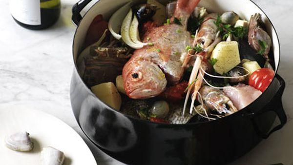 Fish soup (Zuppa di pesce)