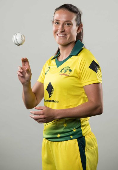 Megan Schutt Australian bowler for women's cricket team