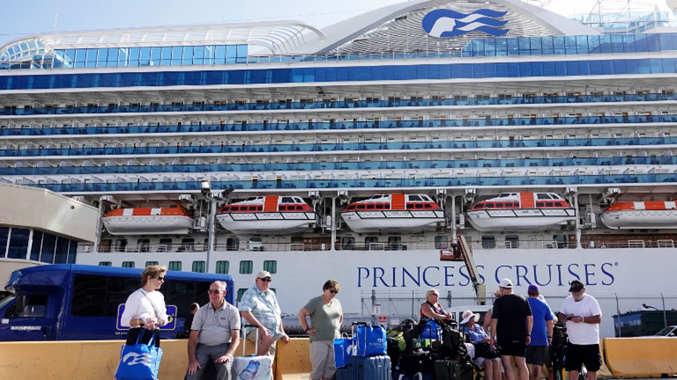 Princess cruises cancel ship sailings including Austraia for 60 days after outbreaks in Japan , California Florida