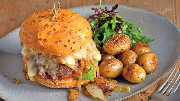 Gluten free burger, Good Without Gluten