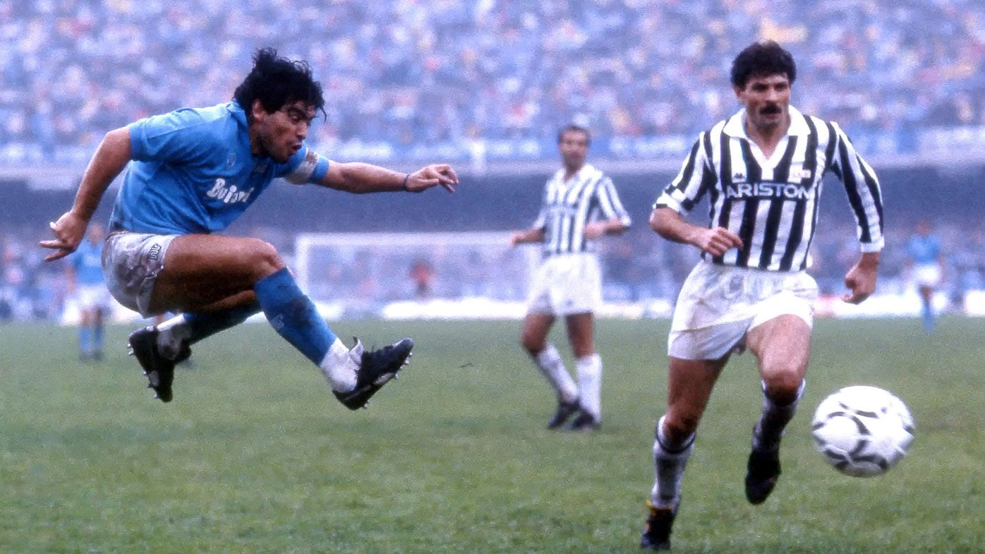 Diego Maradona dead: Napoli mourns its Serie A hero, who delivered two titles