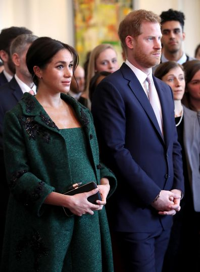 Meghan Markle Prince Harry at Canada House