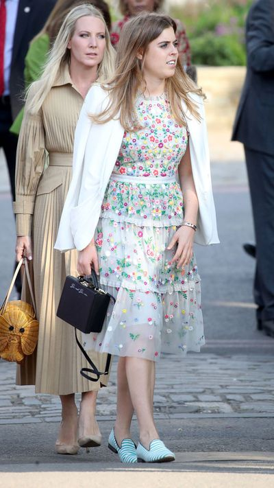 Princess Beatrice at the Chelsea Flower Show