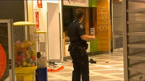The incident has left workers at the shopping centre on edge. Picture: 9NEWS