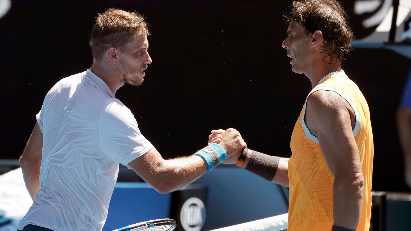 Nadal bests Duckworth on Day 1