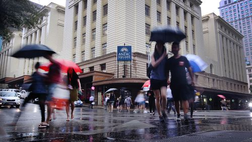 Heavy rain is expected for Brisbane City. (AAP)