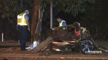 Police break down while recounting horrific fatal drug-fuelled pursuit crash
