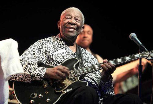Blues legend B.B. King dies in Las Vegas, aged 89