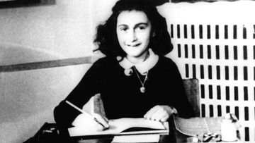 Frank was immortalised in The Diary of Anne Frank following her death of exhaustion and disease in Bergen-Belsen in 1945. (AAP)