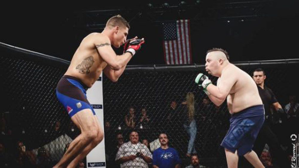 UFC legend Diego Sanchez makes dream come true for fighter with down syndrome
